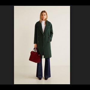Mango Wool Coat. Brand new